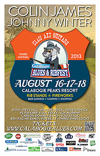 Calabogie Blues & Ribfest, 2012 (Poster)